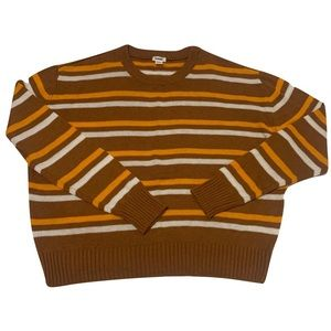 FLASH SALE⚡️2 for 12$NWOT Garage Striped Sweater